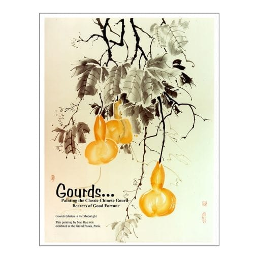 Gourds Brush Painting Lesson by Nan Rae