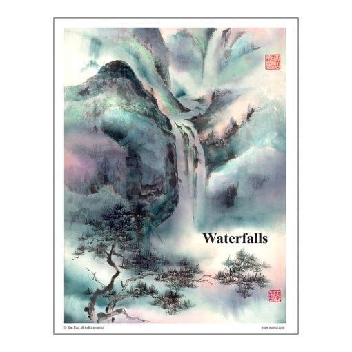 Waterfalls Class Lesson by Nan Rae