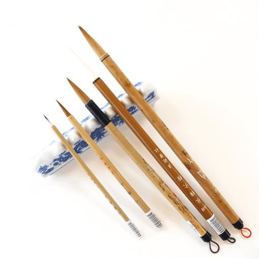 5 Basic Brushes in Chinese Brush Painting