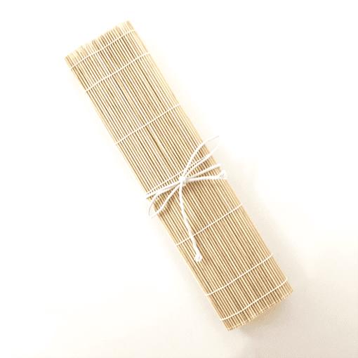 Tied Up Bamboo Brush Wrap