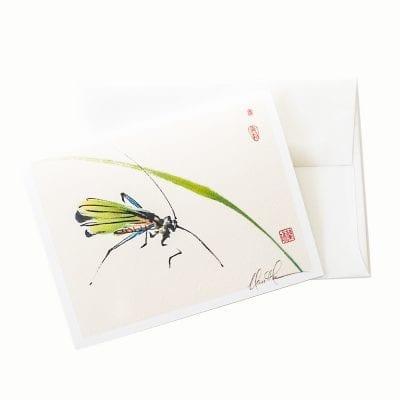 13-02 Grasshopper Card © Nan Rae