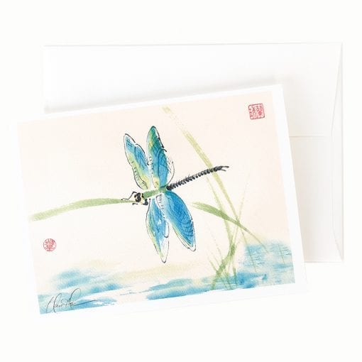 13-05 Dragonfly Card © Nan Rae