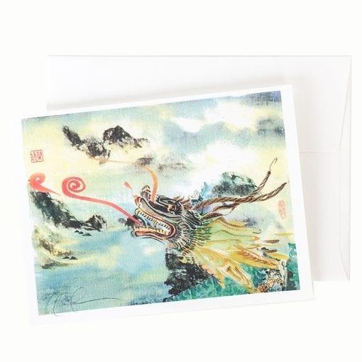 13-14 Dragon King Card © Nan Rae
