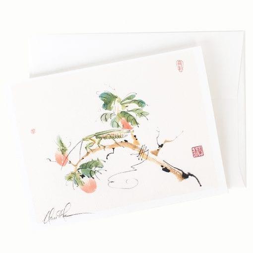 13-25 Loquat Feast Card © Nan Rae