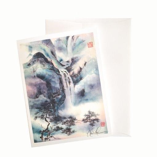 13-54 The Mystic Source Card © Nan Rae