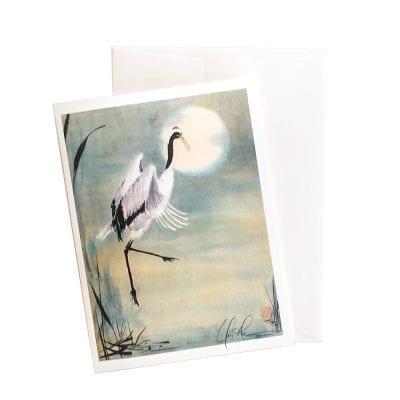 14-25 Dancing in the Moonlight II Card © Nan Rae
