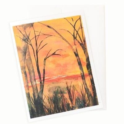 Daybreak Card by Nan Rae