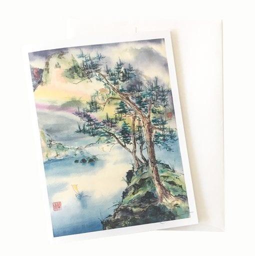 16-20 Pagoda of Tranquility Card © Nan Rae
