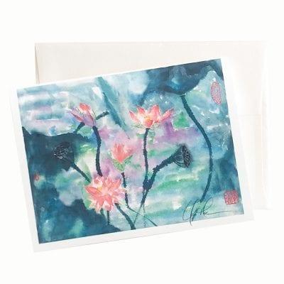 17-48 Dreams in the Night Card © Nan Rae
