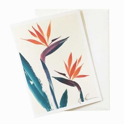 18-07 Bird of Paradise Card by Nan Rae