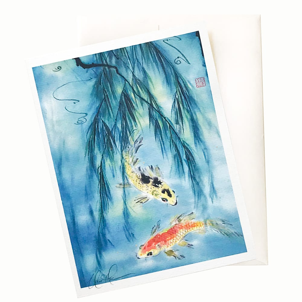 Aquatic Animal Cards by Nan Rae