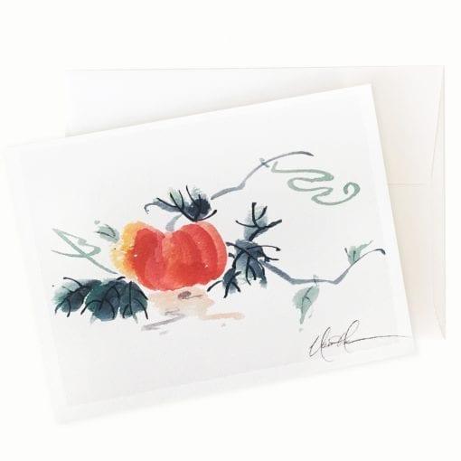 Great Pumpkin Card by Nan Rae