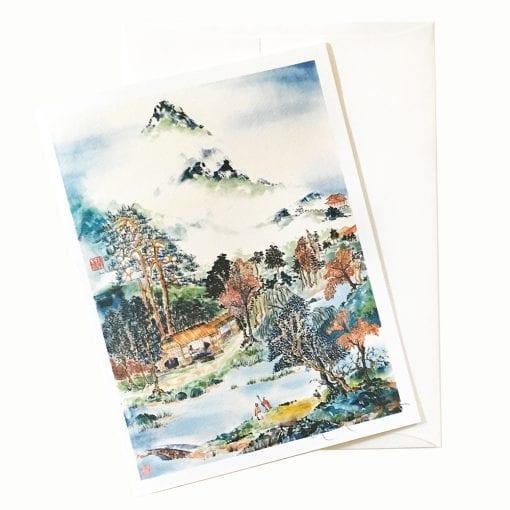 20-60 After Magic Fungus Card © Nan Rae