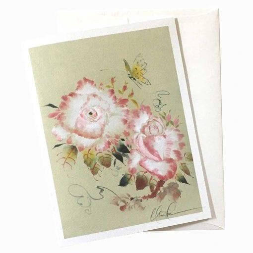 21-44 Softly Card by Nan Rae