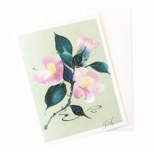21-61 Camellia Sukiya Card © Nan Rae