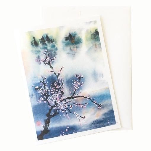 22-22 Blossoms Dream Card © Nan Rae