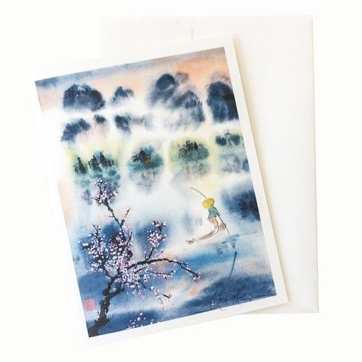 22-23 Dreams of Cherry Blossoms Card © Nan Rae