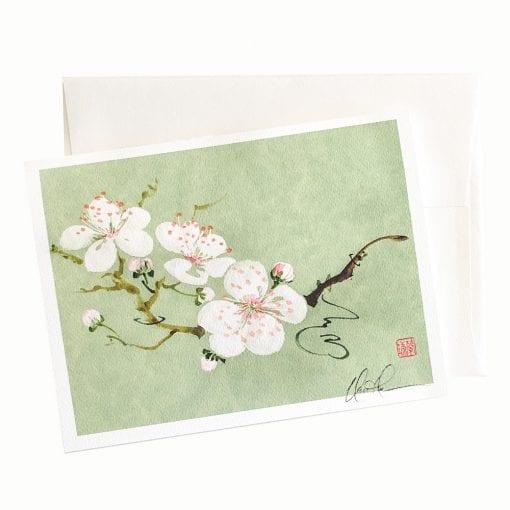 22-28 Spring Princess Blossoms Card © Nan Rae