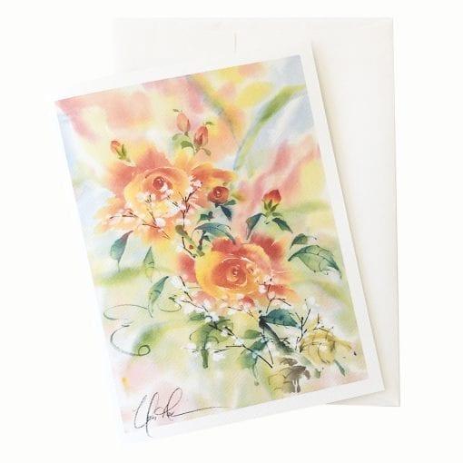 22-60 Gentle Blooms Card © Nan Rae