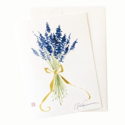 22-63 Lavender Blue, Dilly, Dilly ... Card © Nan Rae