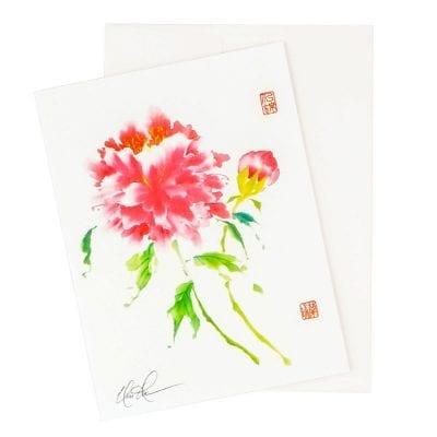 25-28 Shocking Pinkness Card © Nan Rae