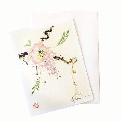 25-34 First Blossom Card © Nan Rae