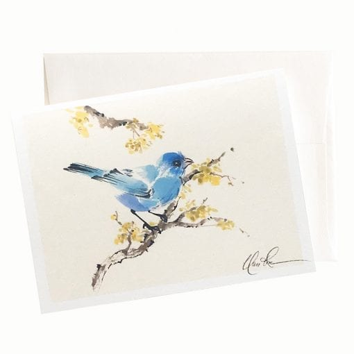 26-39 Blue Majesty Card © Nan Rae