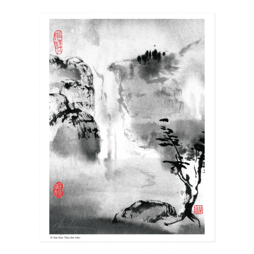 L2321 Thru the Mist Print © Nan Rae