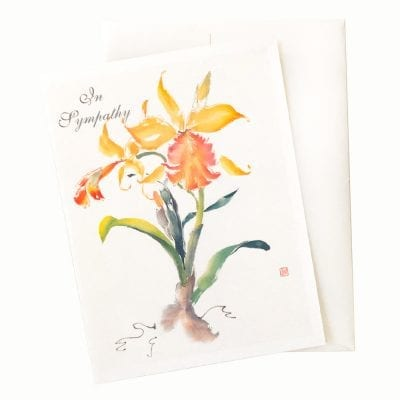 15-41S Golden Moment Sympathy Card