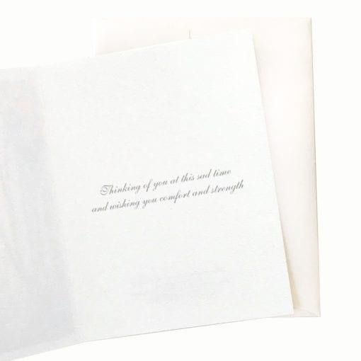 16-17S Daybreak Sympathy Card Inside Message by Nan Rae