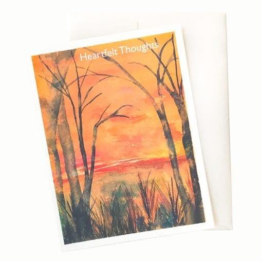 16-17S Daybreak Sympathy Card by Nan Rae