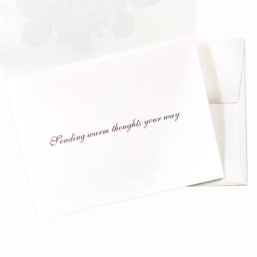 Forget Me Not Get Well Card Message by Nan Rae
