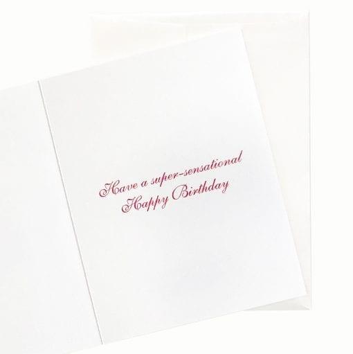 15-04B Carousel Birthday Card by Nan Rae
