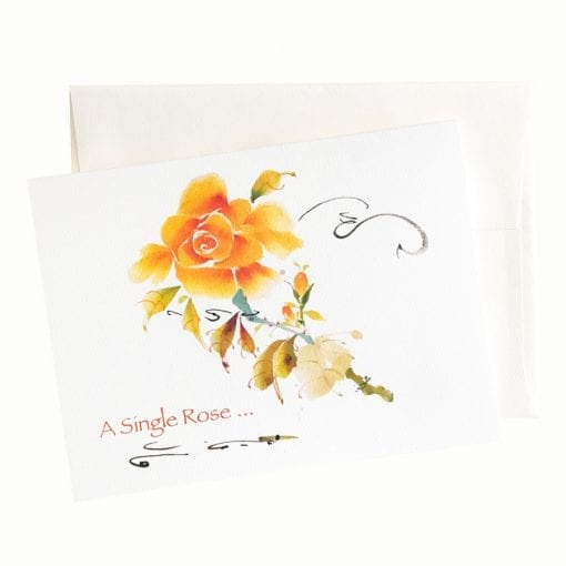 20-55B Rose of Love Birthday Card by Nan Rae