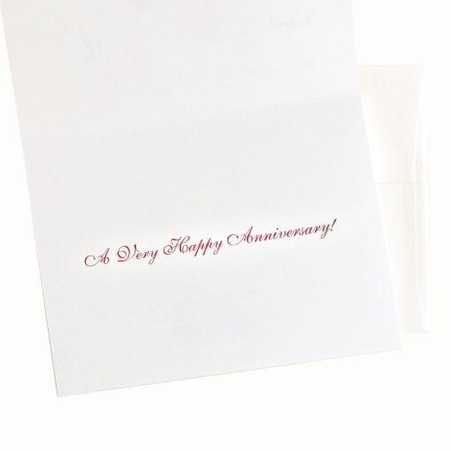 Anniversary Card Message Inside