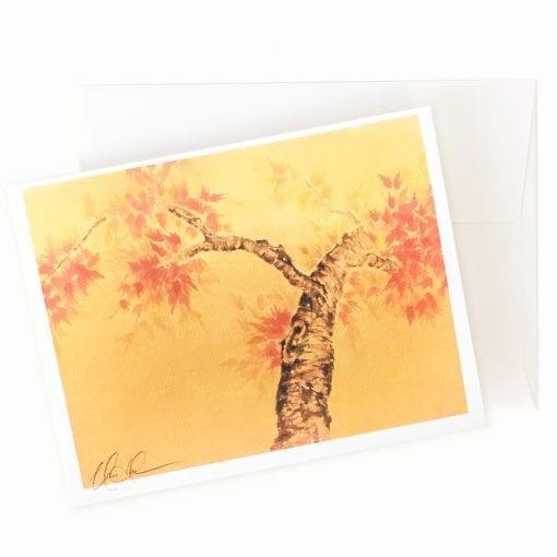 Golden Moment Card by Nan Rae