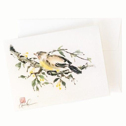 Safe Haven (Bird) Card by Nan Rae
