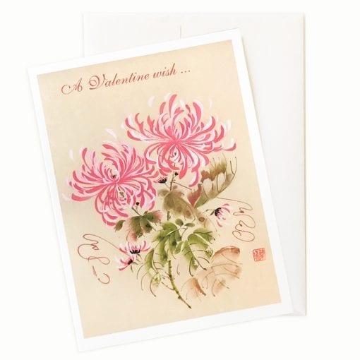 Waltz Time Valentine's Day Card by Nan Rae