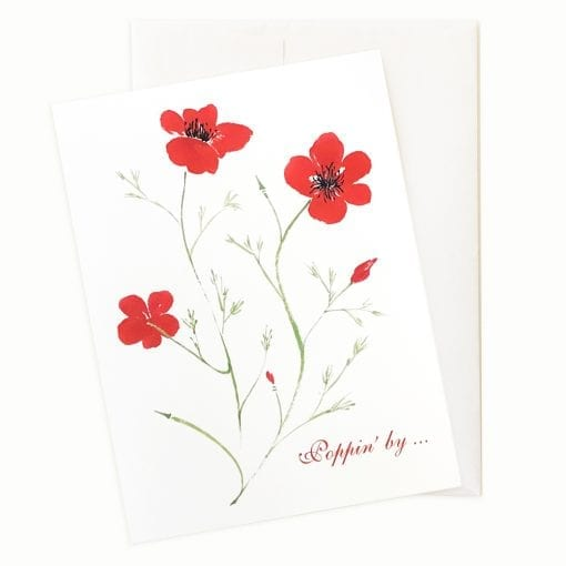 Remembrance Valentines Day Card by Nan Rae