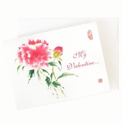 Pinkalicious Valentines Card by Nan Rae
