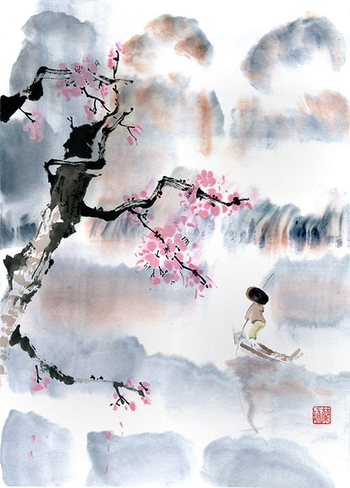 Original Landscape Art by Nan Rae