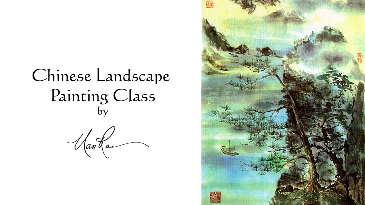 Chinese Landscape Online Painting Class