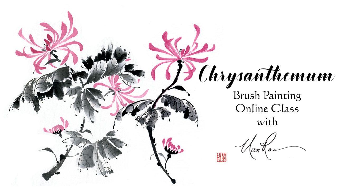 Wisteria Online Brush painting class