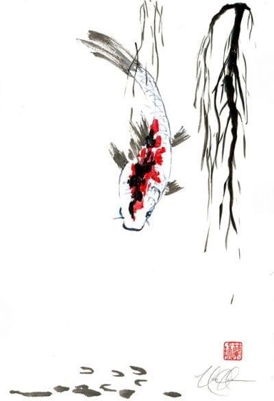 Fish painting by Nan Rae